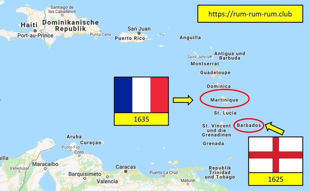 Barbados-Martinique- Ron -Rhum-Agricole
