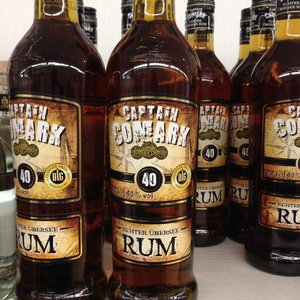 Captain Comark Rum 40%