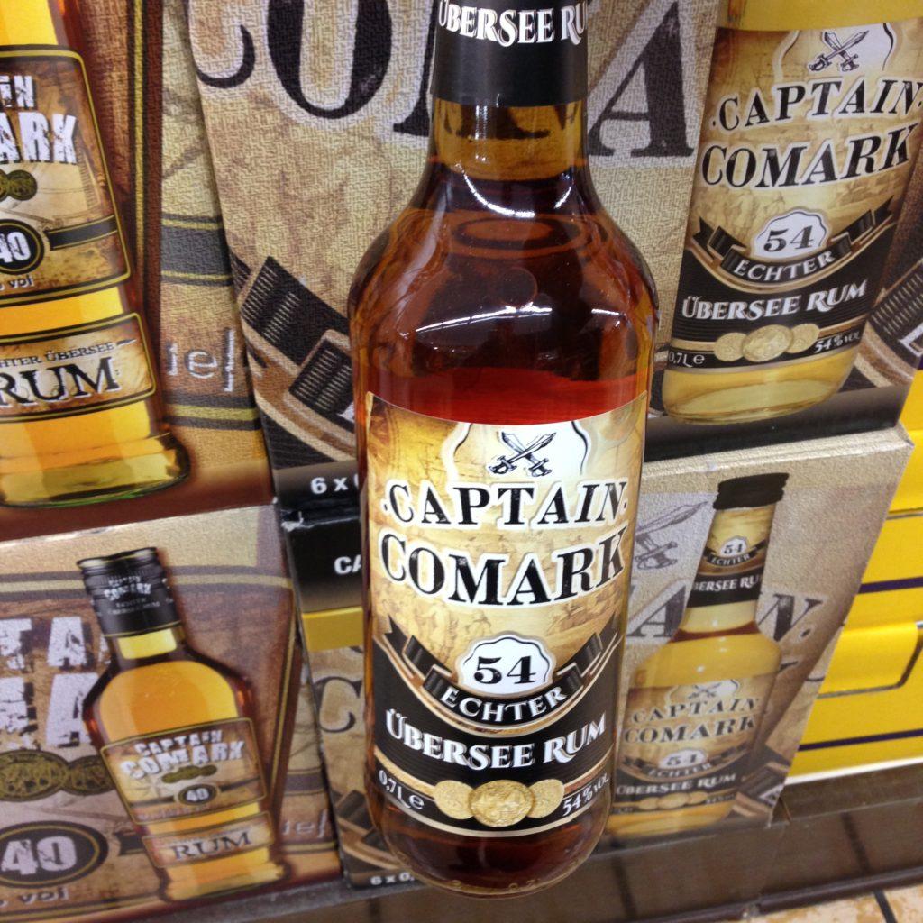 Captain Comark 54% Rum