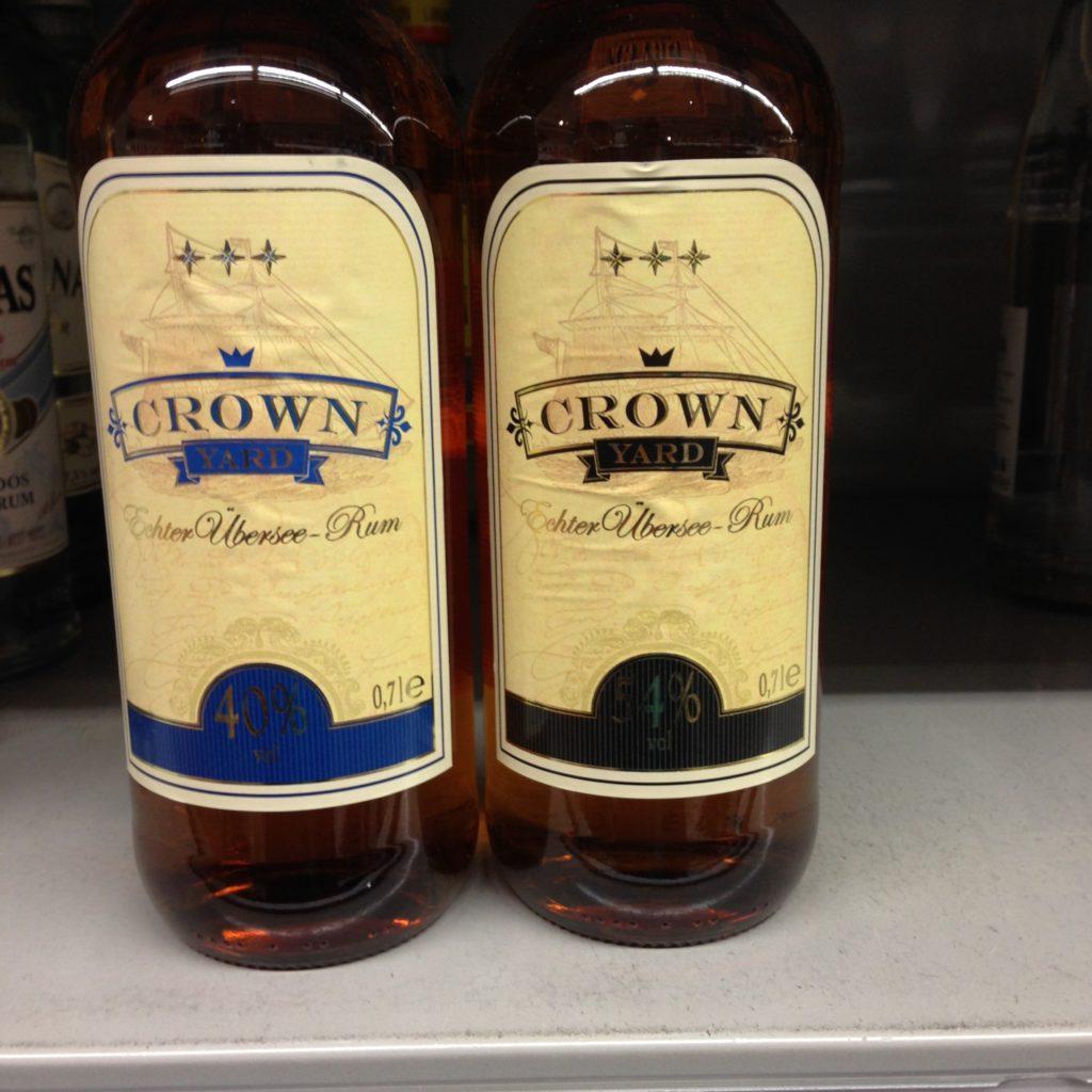 Crown Yard Übersee Rum REWE