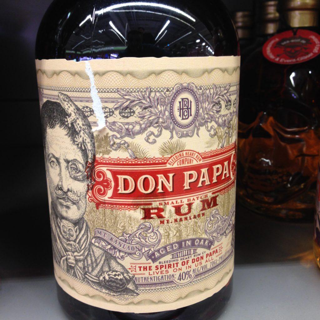 Don Papa Rum Philippine Negros Island