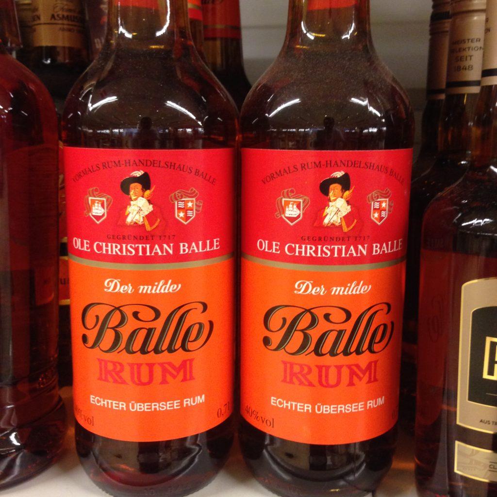 Ole Christian Balle echter Übersee Rum