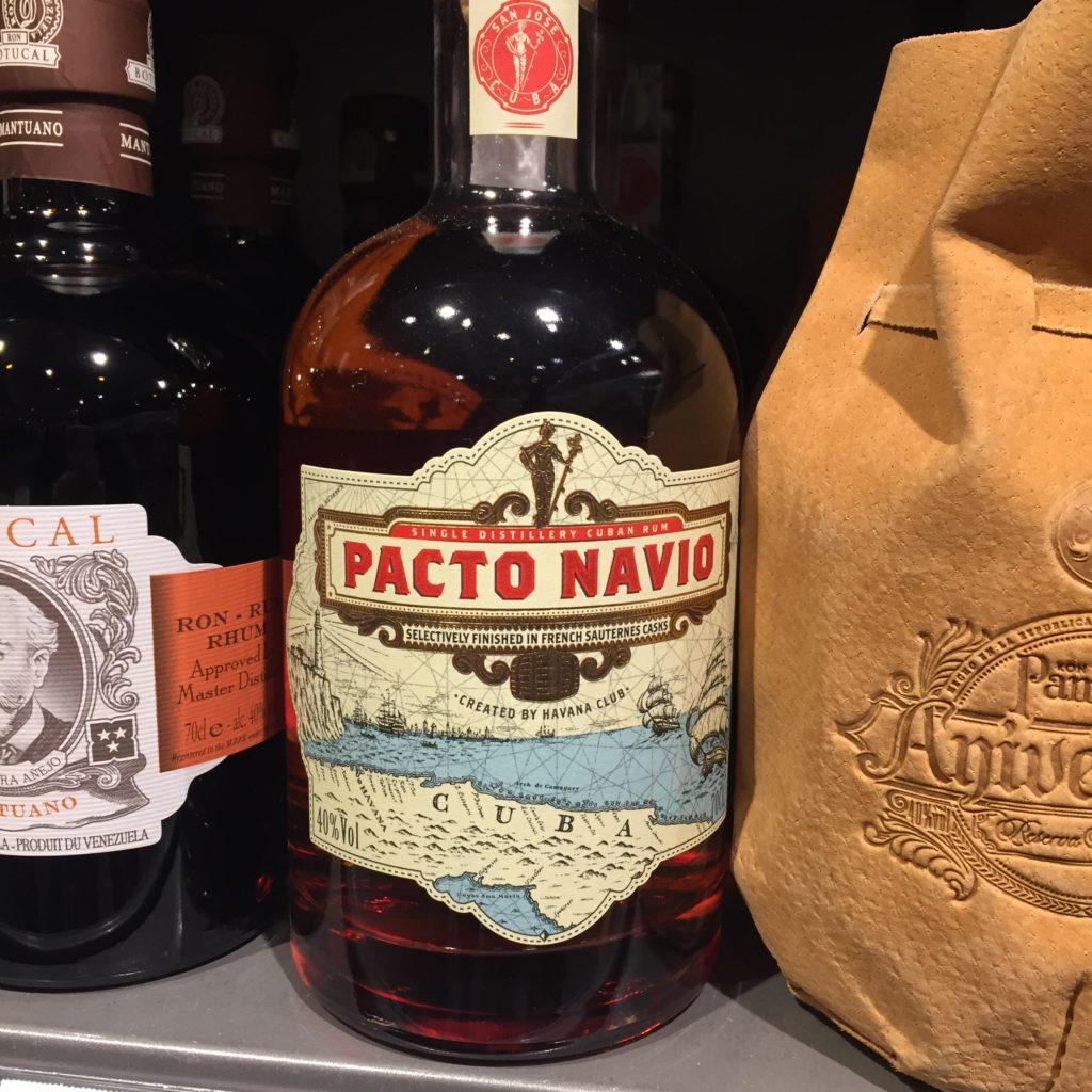 Pacto Navio Rum Kuba