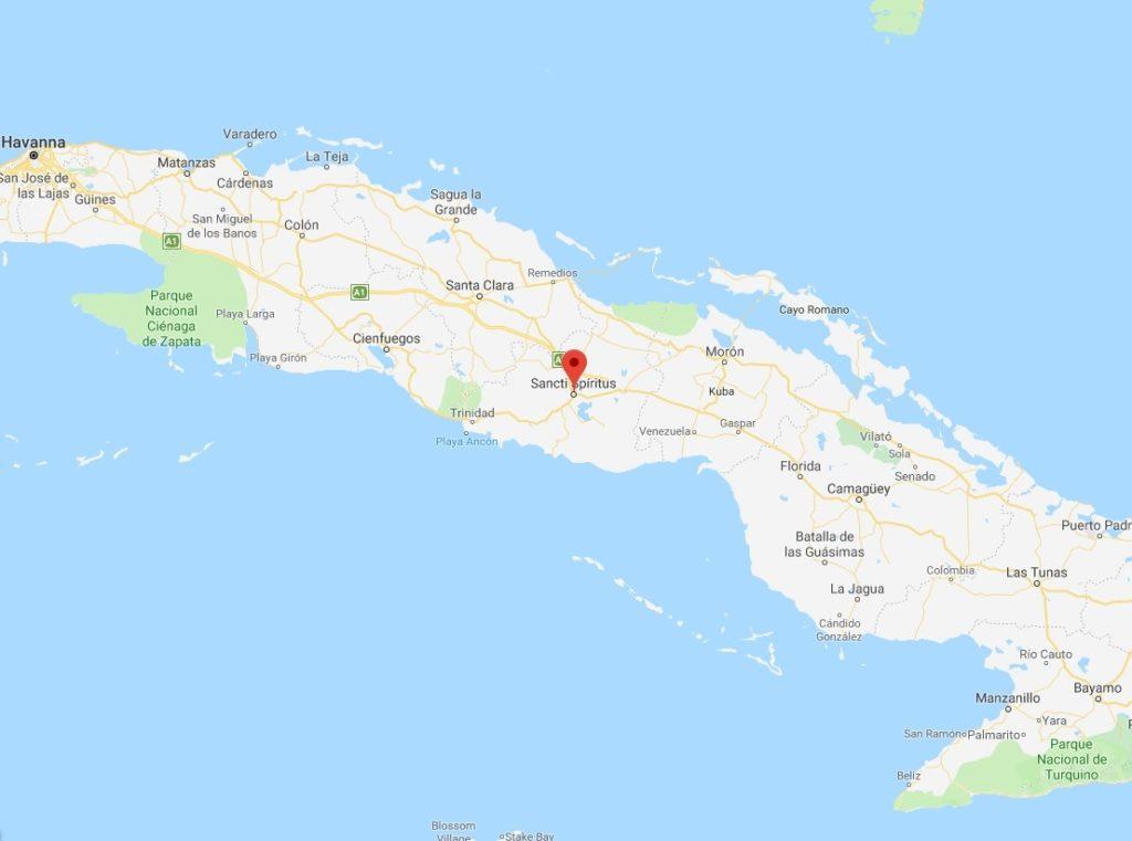 Ron Santero - destileria Sancti Spiritu Cuba